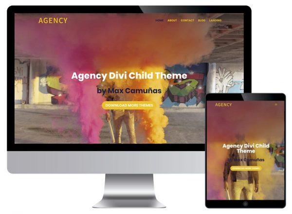 Plantillas Divi | Divi Templates: Agency