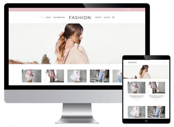 Plantillas Divi | Divi Templates: Fashion