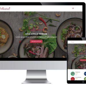 Plantillas Divi | Divi Templates: Restaurant