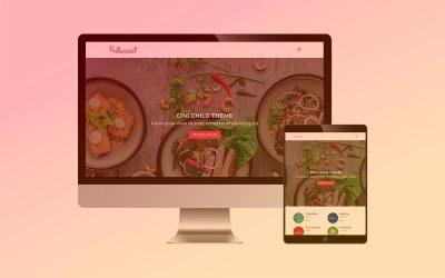 Plantilla RESTAURANT para Divi: capta clientes y gestiona tus reservas