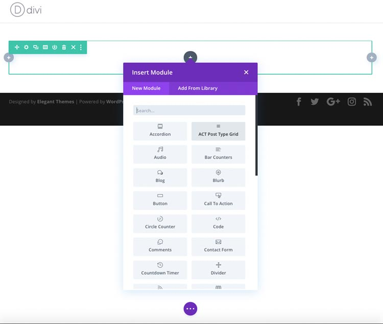 plugins para divi: Advanced Custom Types for Divi