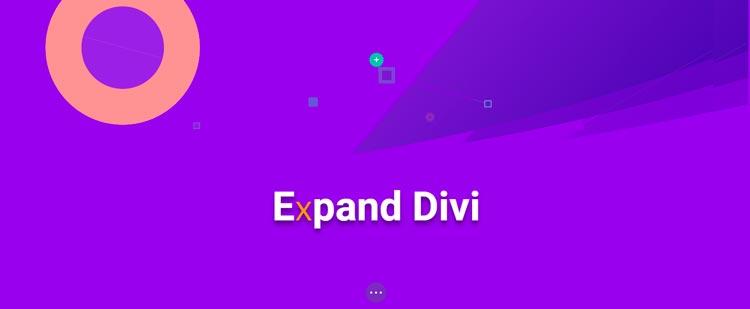 Plugins para Divi: Expand Divi