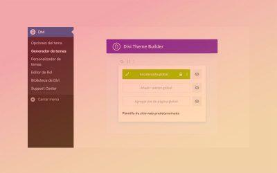 Cómo crear una cabecera personalizada con el generador de temas de Divi
