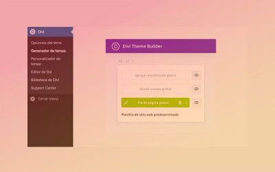 Cómo crear un footer (pie de página) personalizado con el generador de temas de Divi